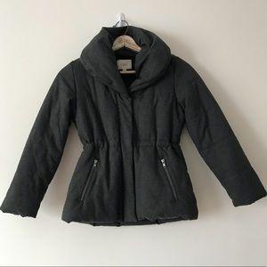 LOFT Gray XSP Puffer Coat